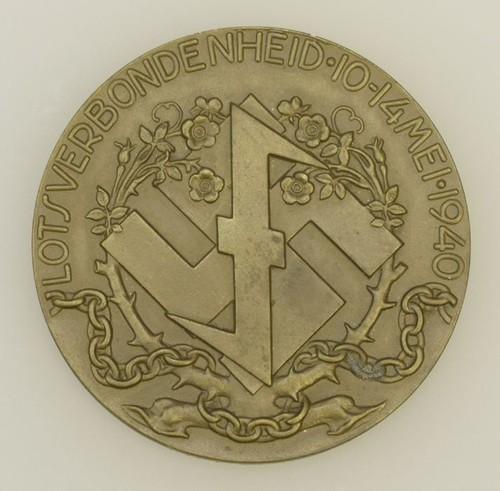 890 Medaille Uitgegeven Door De Nederlandse Afdeling Van De Wa