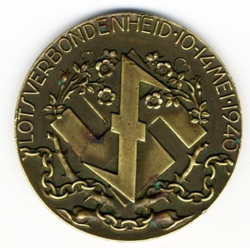 9088 Medaille Uitgegeven Door De Nederlandse Afdeling Van De Wa